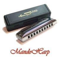 MandoHarp - Hohner Diatonic Harmonica - 580/20 Meisterklasse