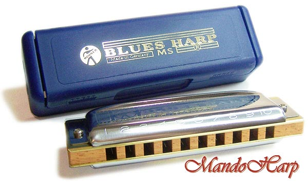 Hohner Blues Harp C MS System