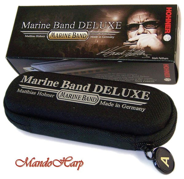 MandoHarp - Hohner Harmonica - 2005/20 Marine Band Deluxe - SELECT KEY
