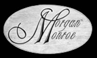 MandoHarp - Genuine Morgan Monroe Thin-Braid Leather Mandolin Strap
