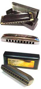 Go to our Harmonica Index